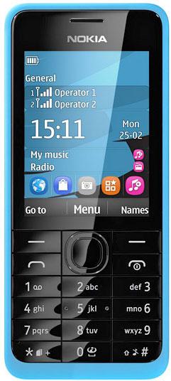 Nokia301-Dual SIM