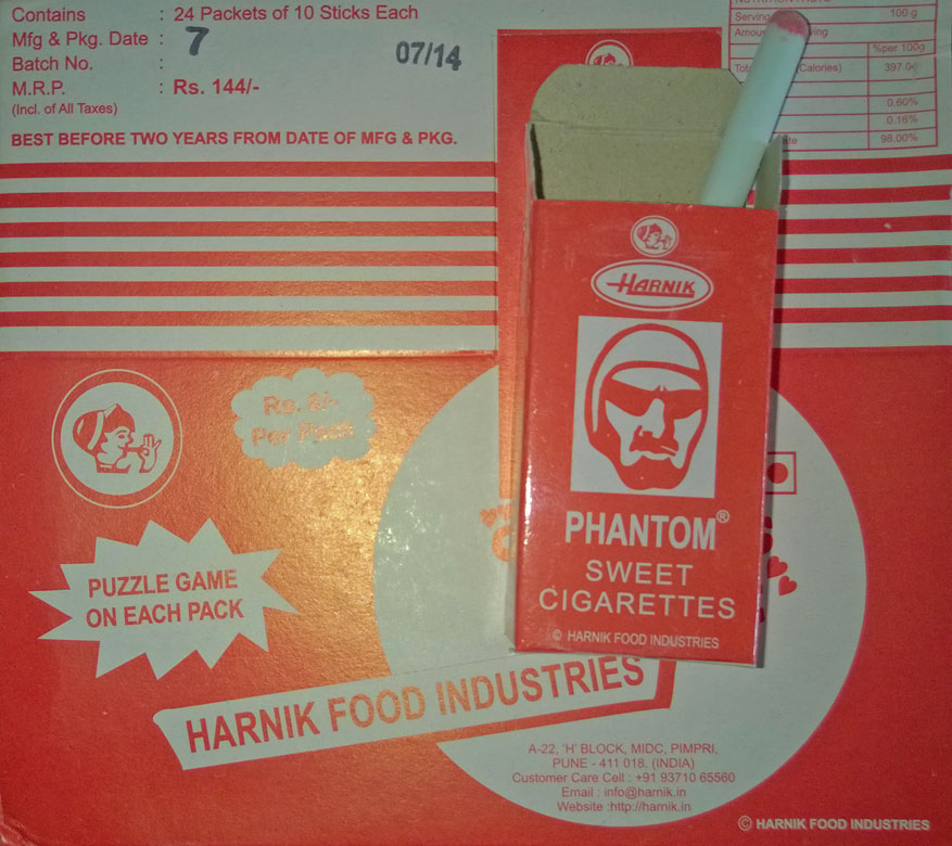 Phantom Sweet Cigarettes (Candy)