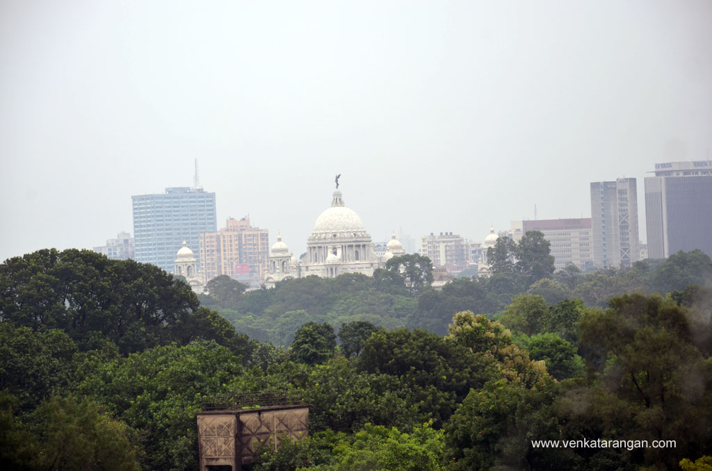 View of Victoria Memorial Hall from Taj Bengal