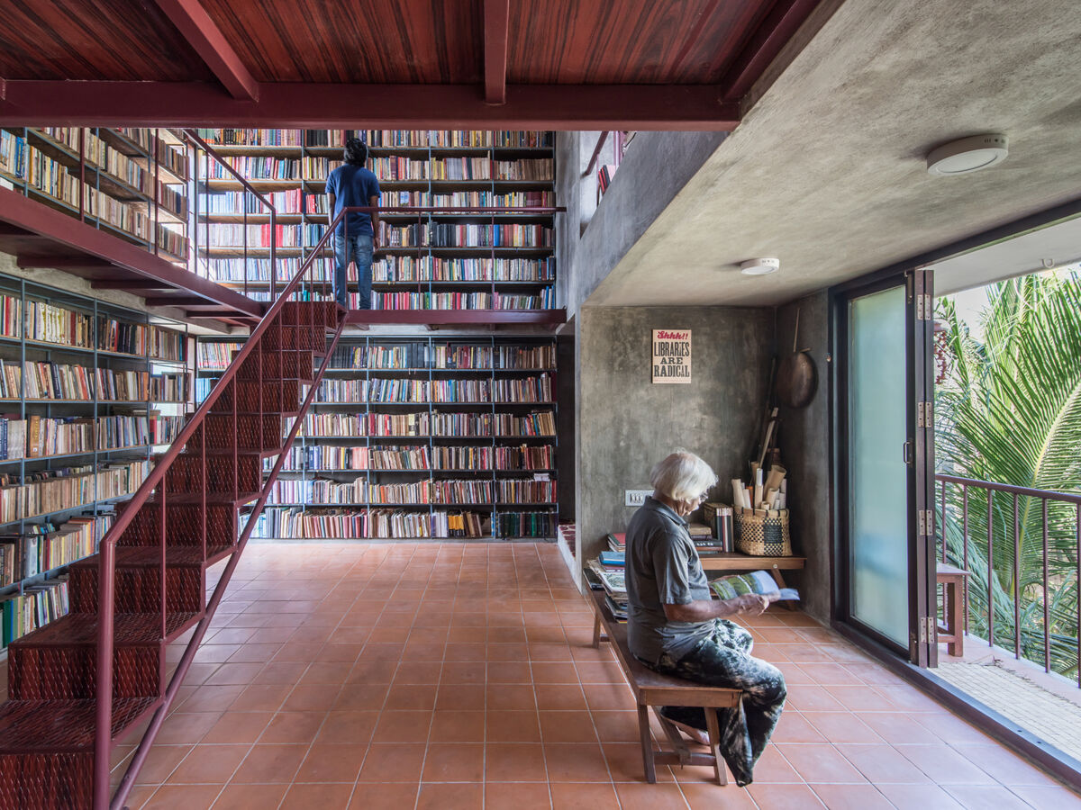 Arasu and Mangai Personal Library in Chennai