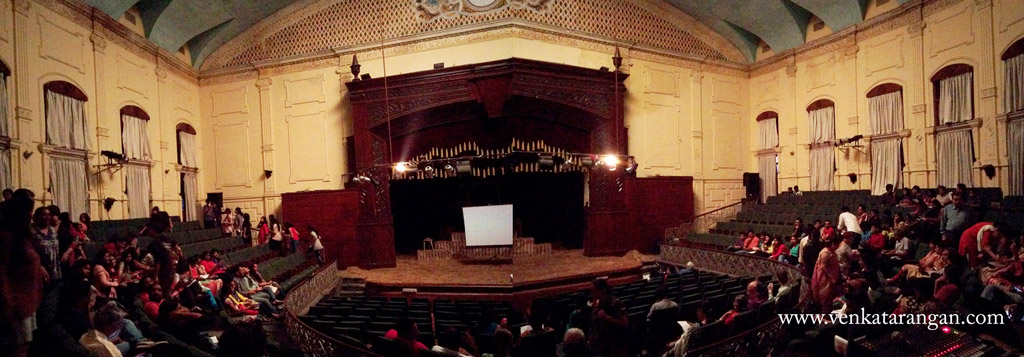 Egmore Museum Theatre built in late 19th Century by British