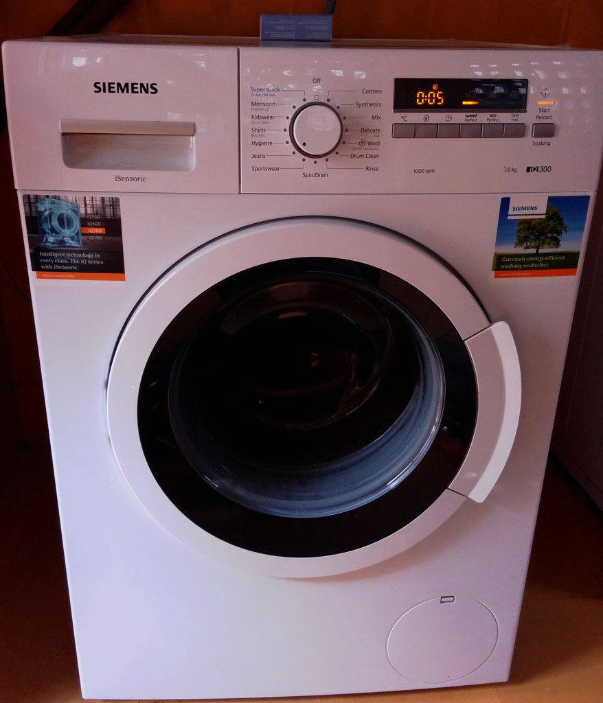 Siemens WM10K260IN (iQ300) Front loading automatic washing machine