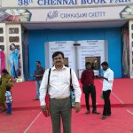Your's truly in Chennai Book Fair 2015