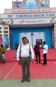 Your's truly in Chennai Book Fair 2015