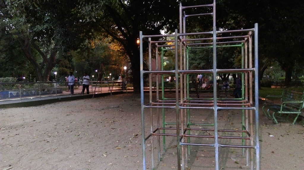 Kids play area in Panagal Park (Chennai)