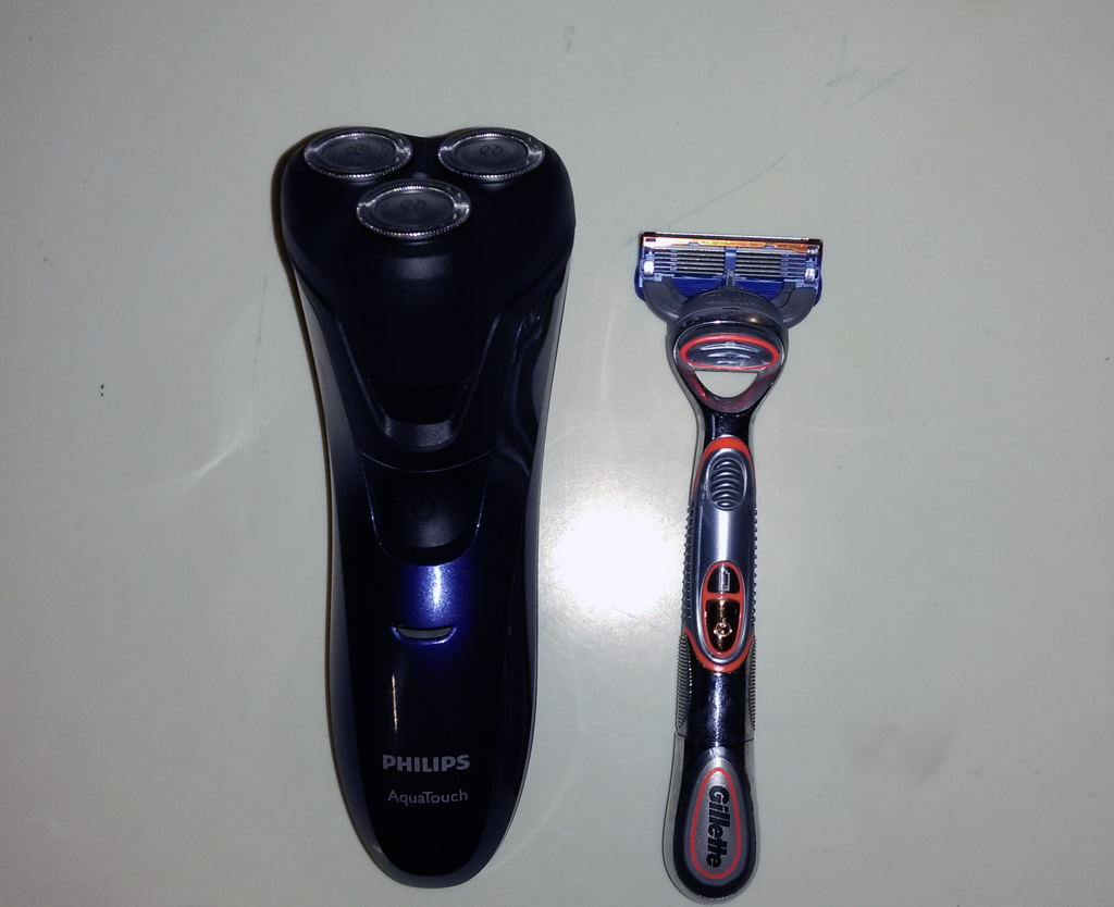 Electric Shaver and Razor