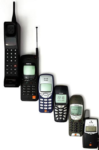 mobile-phones-initial-days