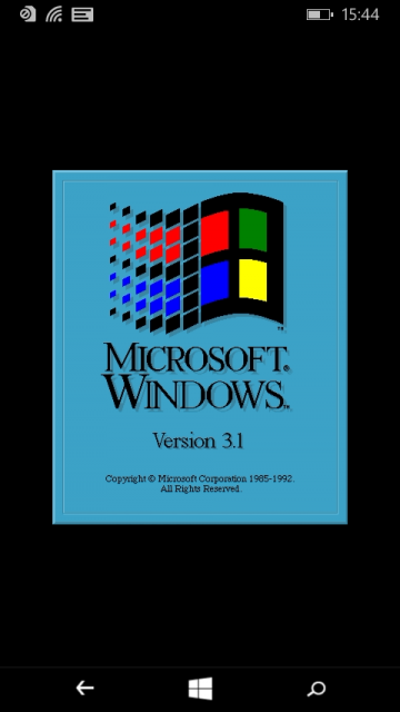 Windows 3.1 for Windows Phone
