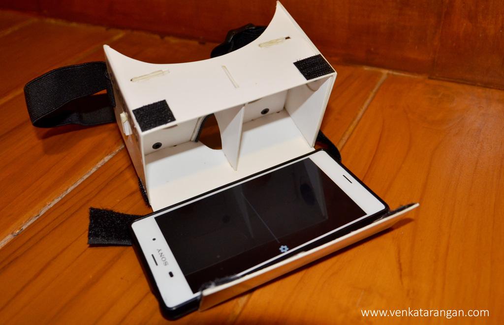 Alian 3D Google Cardboard