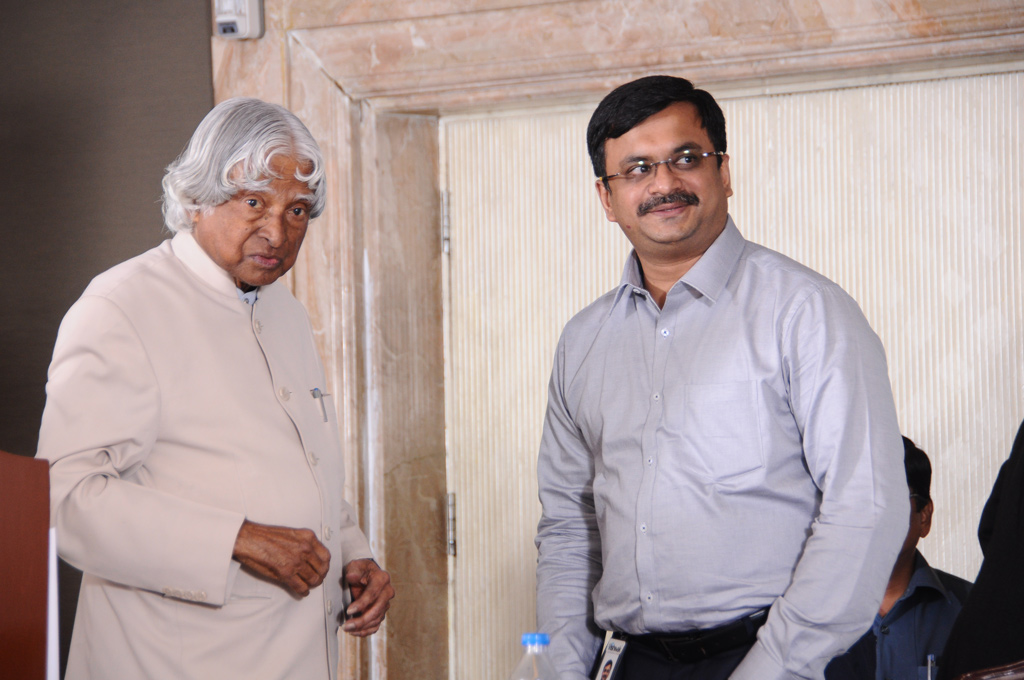 December 2014, Unforgettable evening with Dr Kalam in Chennai