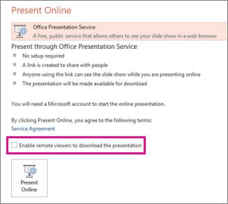 PowerPoint-PresentOnline