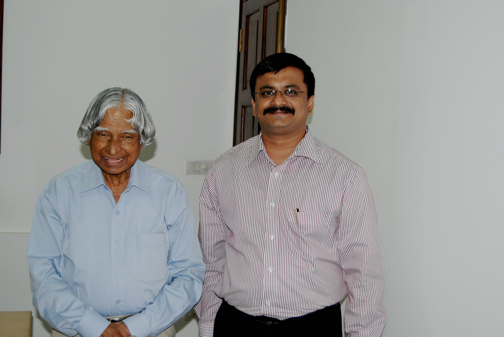 May 2010 in Dr.Kalam's Residence in Rajaji Marg, Delhi