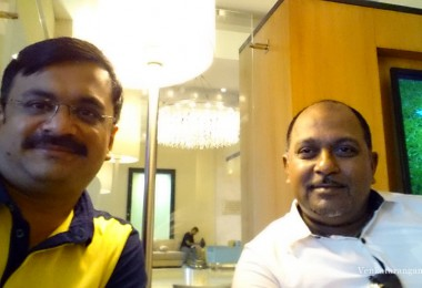Venkatarangan (left) and Maheshkumar Ramachandran (right)