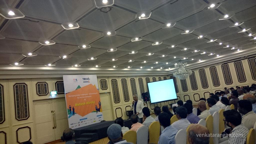 Mahesh Murthy in TiECON Chennai - Reinventing HR