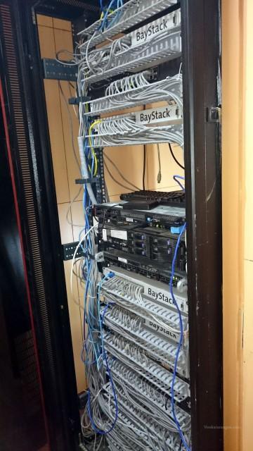 Server Rack now