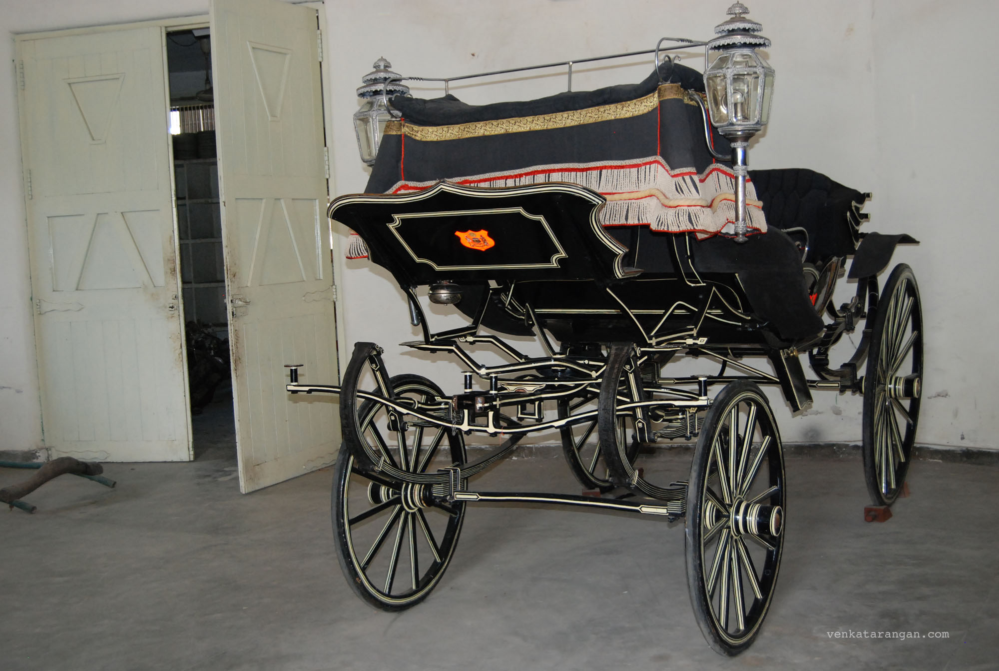 Horse coach at Vintage Car Museum Udaipur