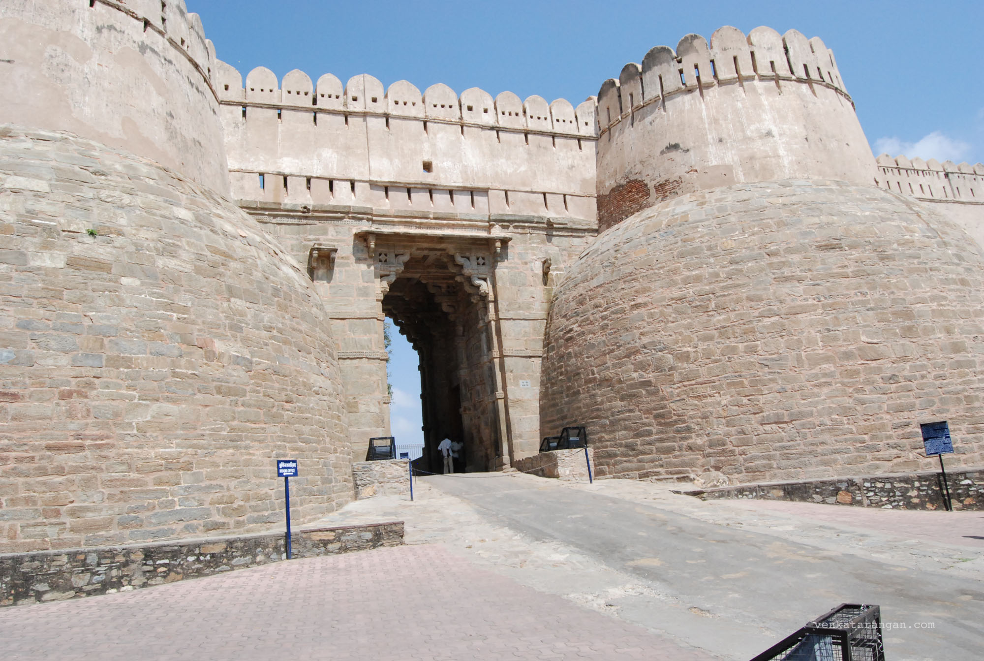 Gateway to Kumbhalgarh Fort