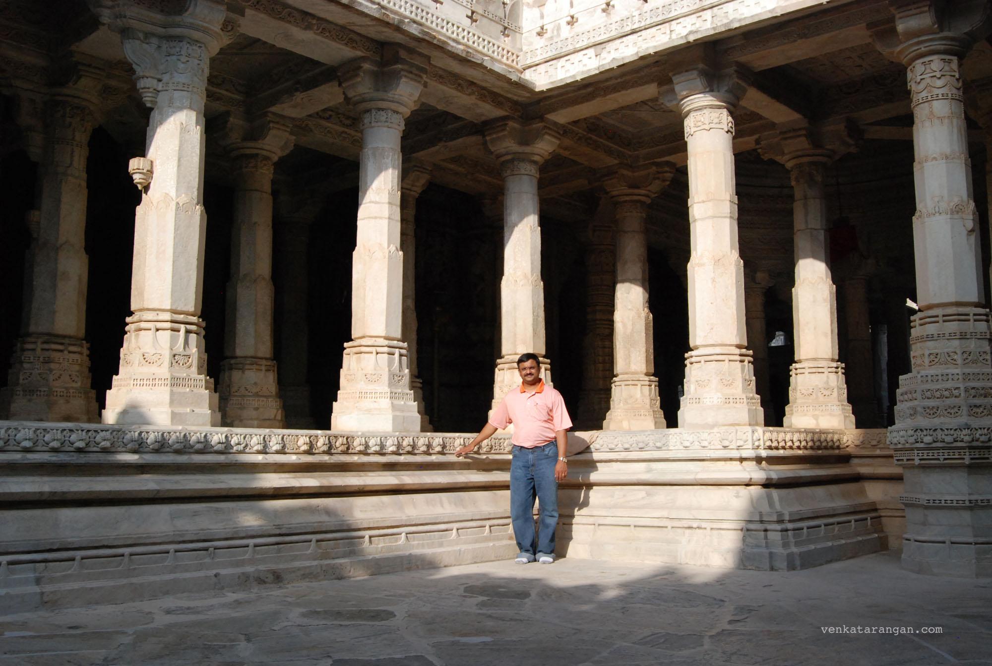 Venkatarangan in Ranakpur Jain Temple