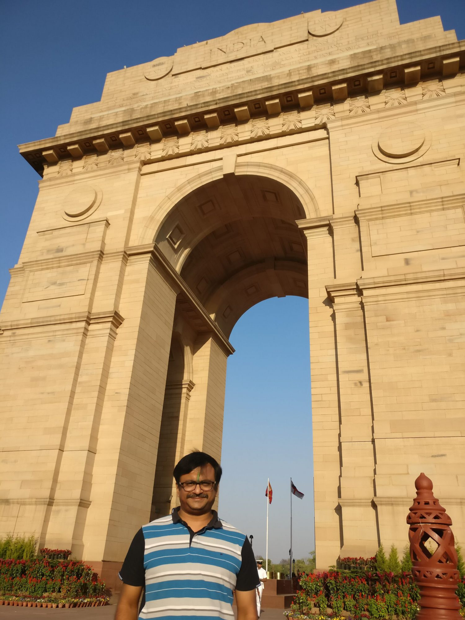 For me, it was a moment of gratitude and national pride to be standing near Amar Jyoti