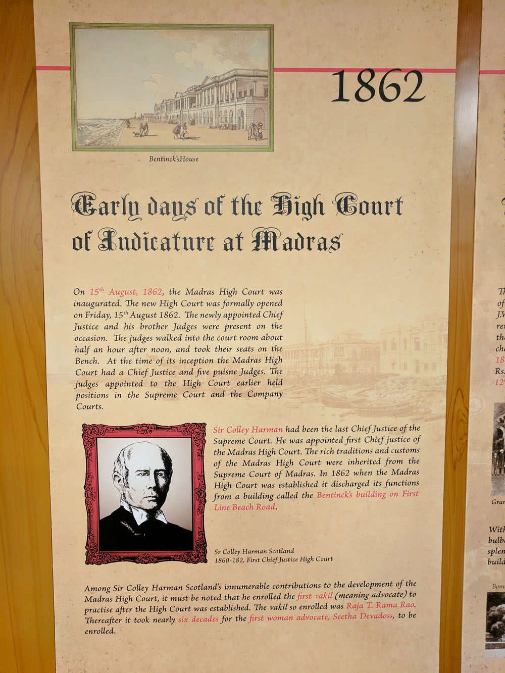 History of The High Court of Madras