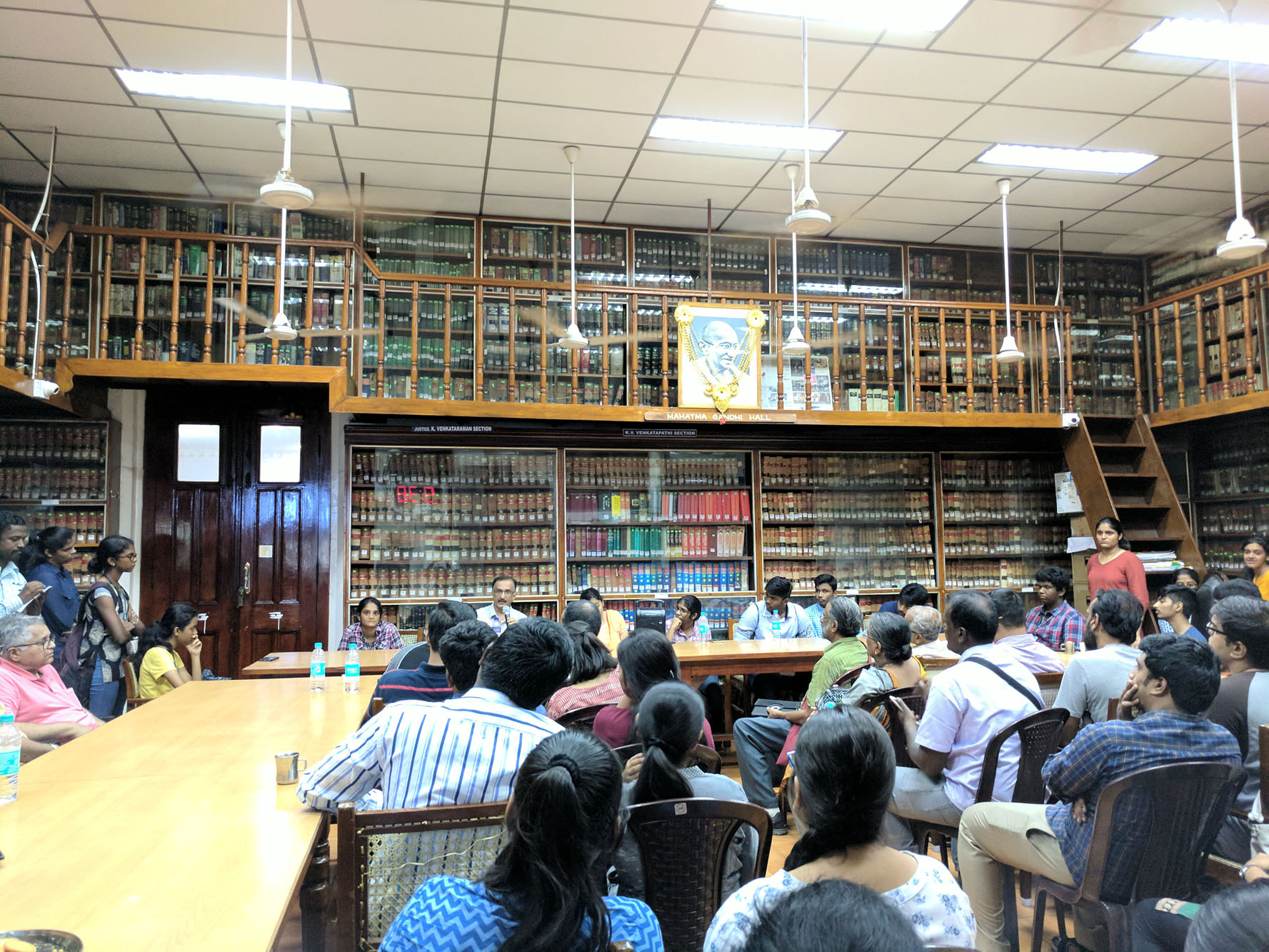 The library of Madras Bar Association