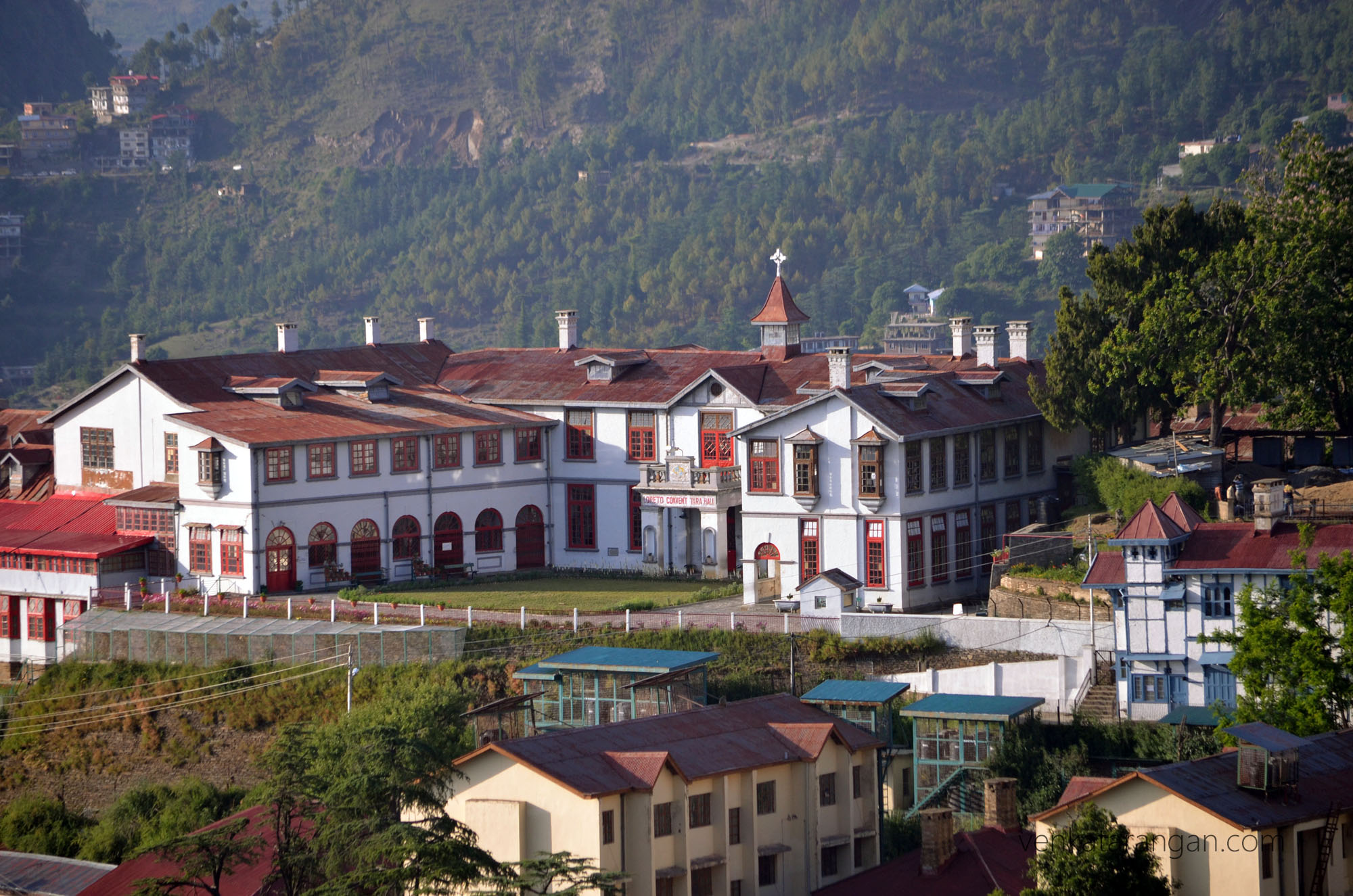 View of the Loreto Convent, Shimla