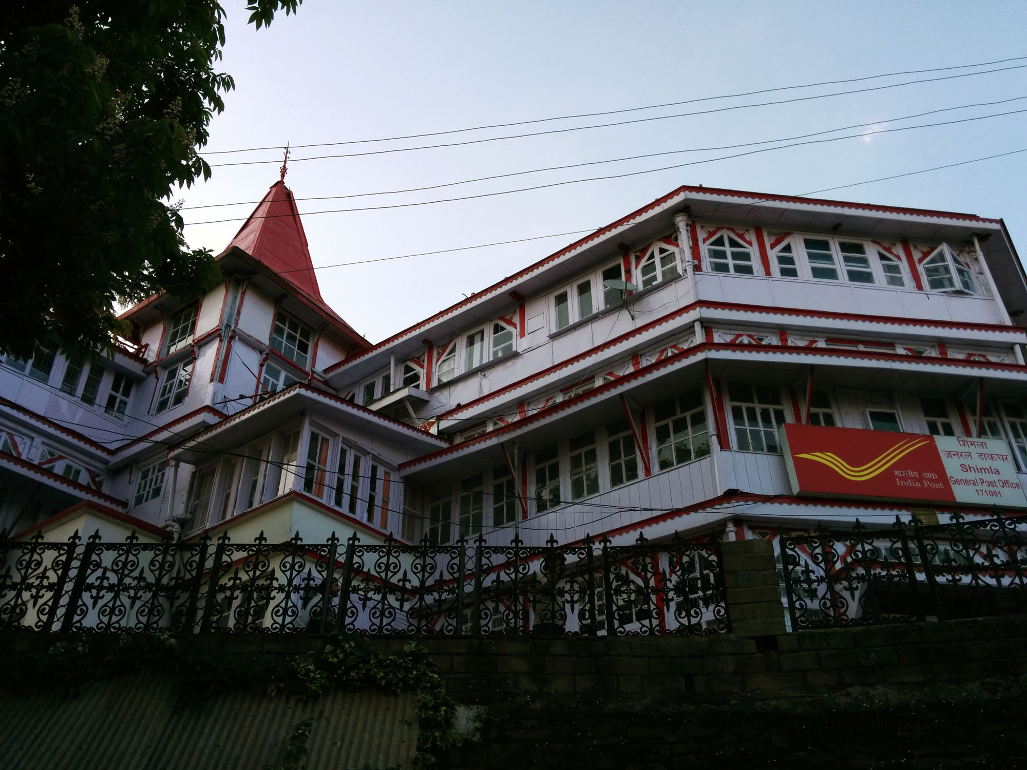 Shimla General Post Office, another colonial era building