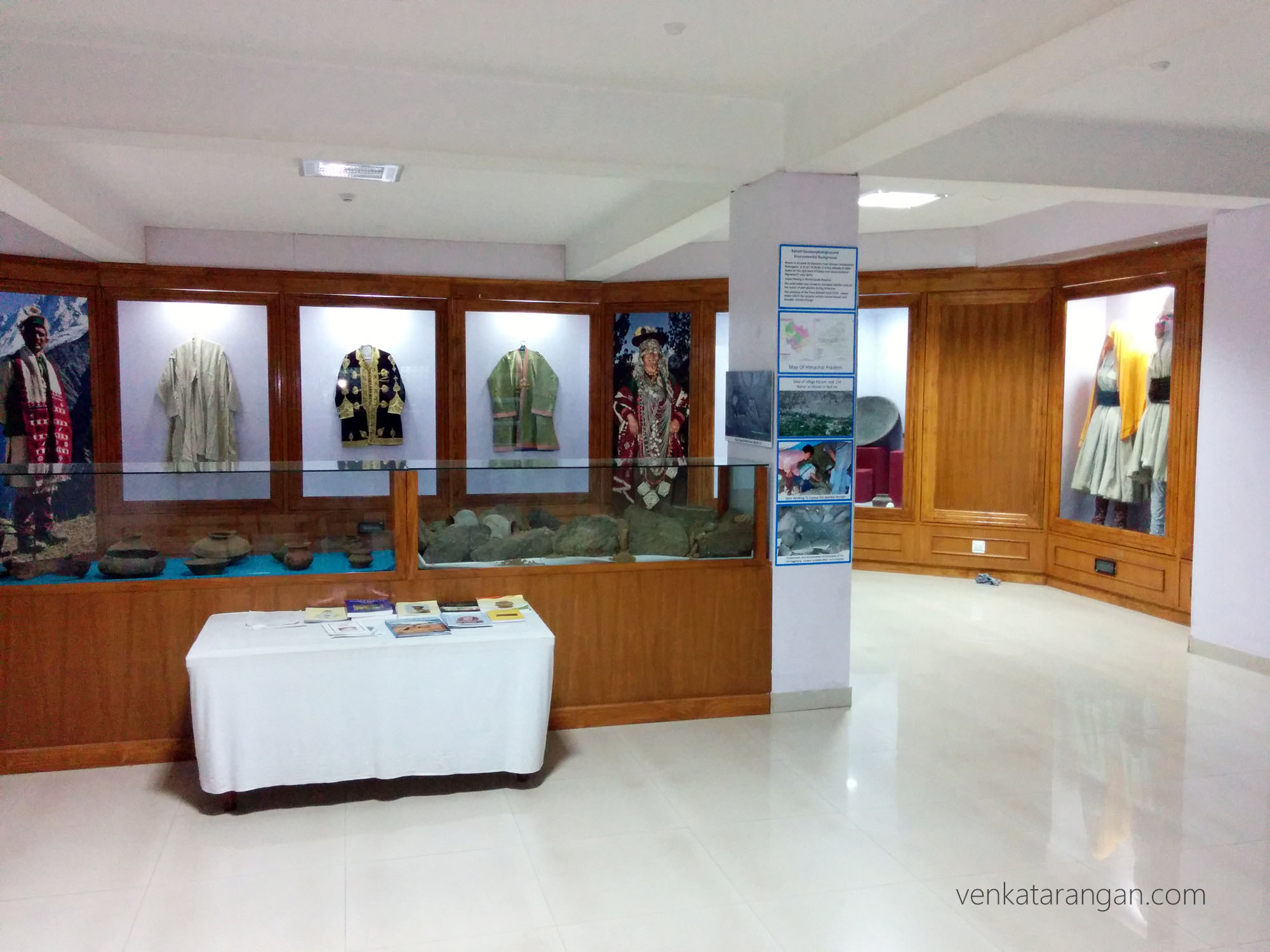 Traditional costumes of Himachal state on display