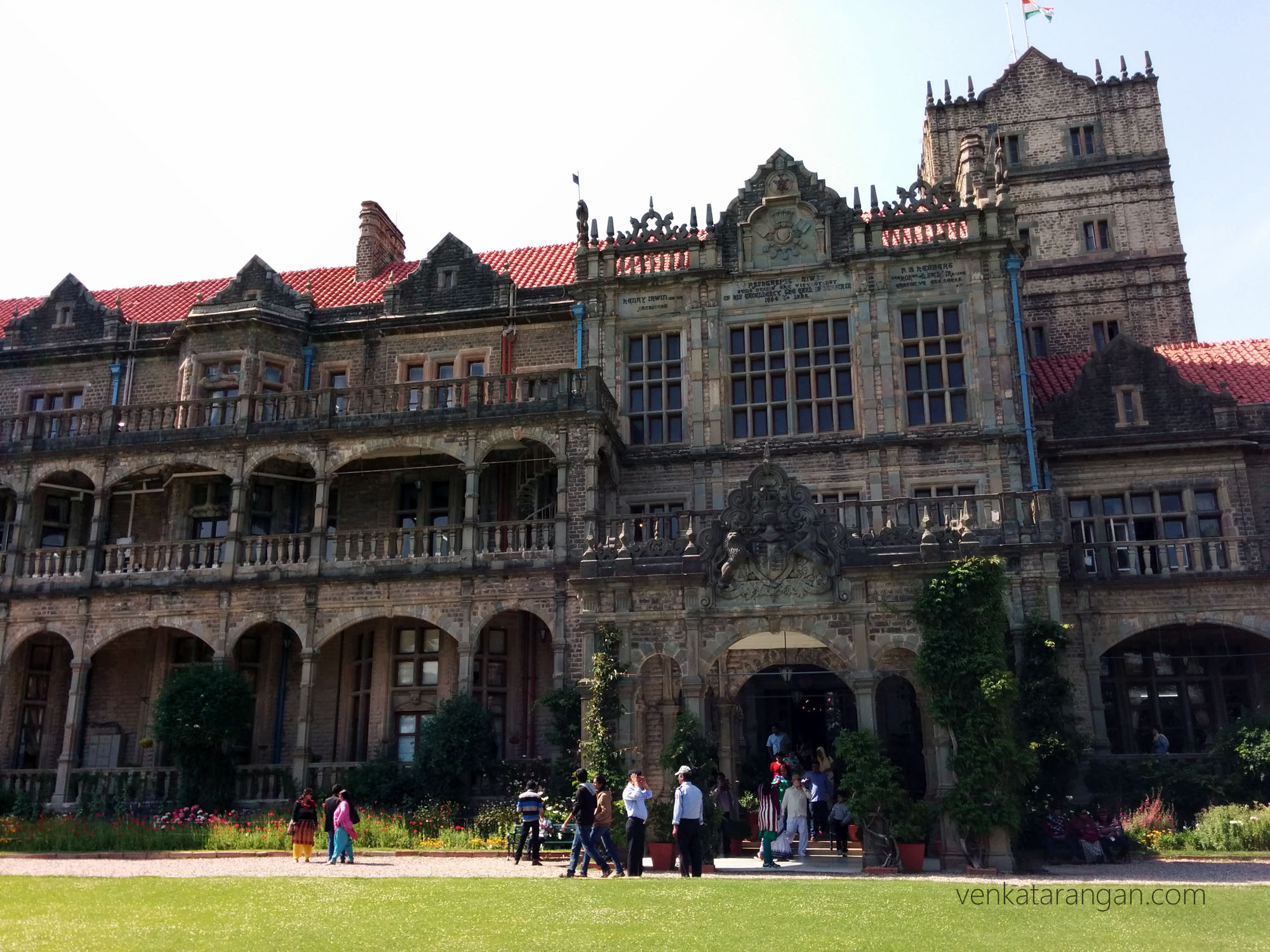 Entrance to Viceregal Lodge, Shimla