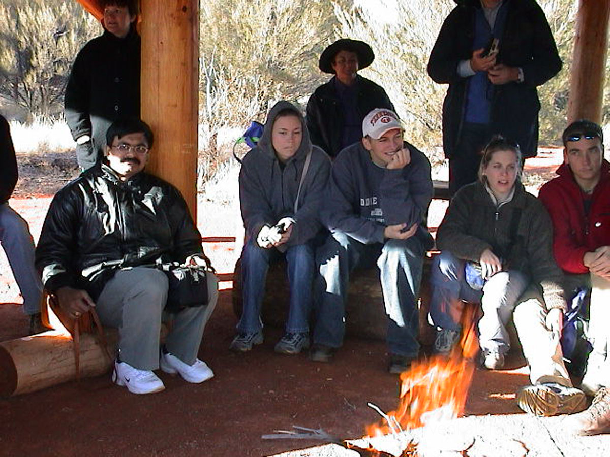 (June 2002) Fireside stories of Uluru from Aboriginal mythologies