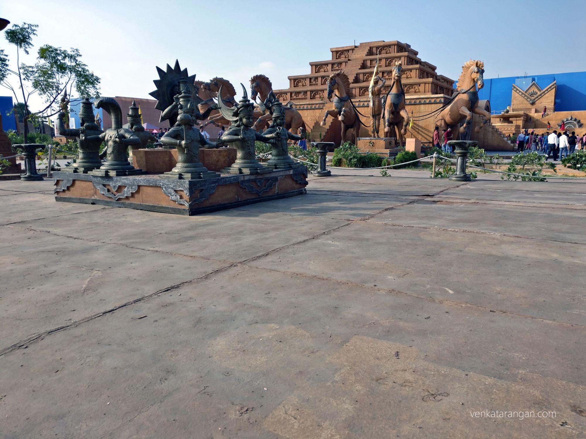 Baahubali - Navagraha idols