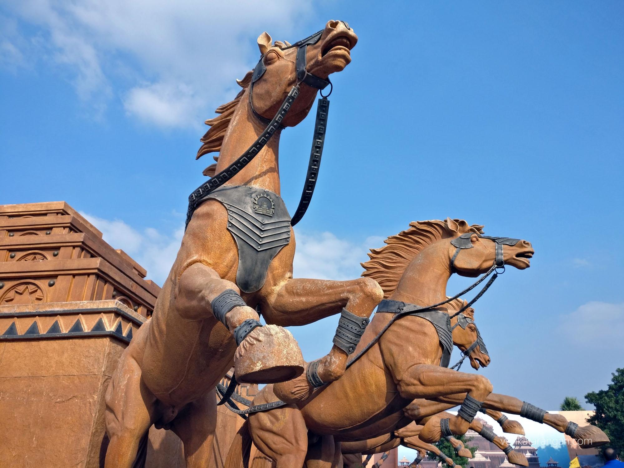 Baahubali - Lifelike Horses