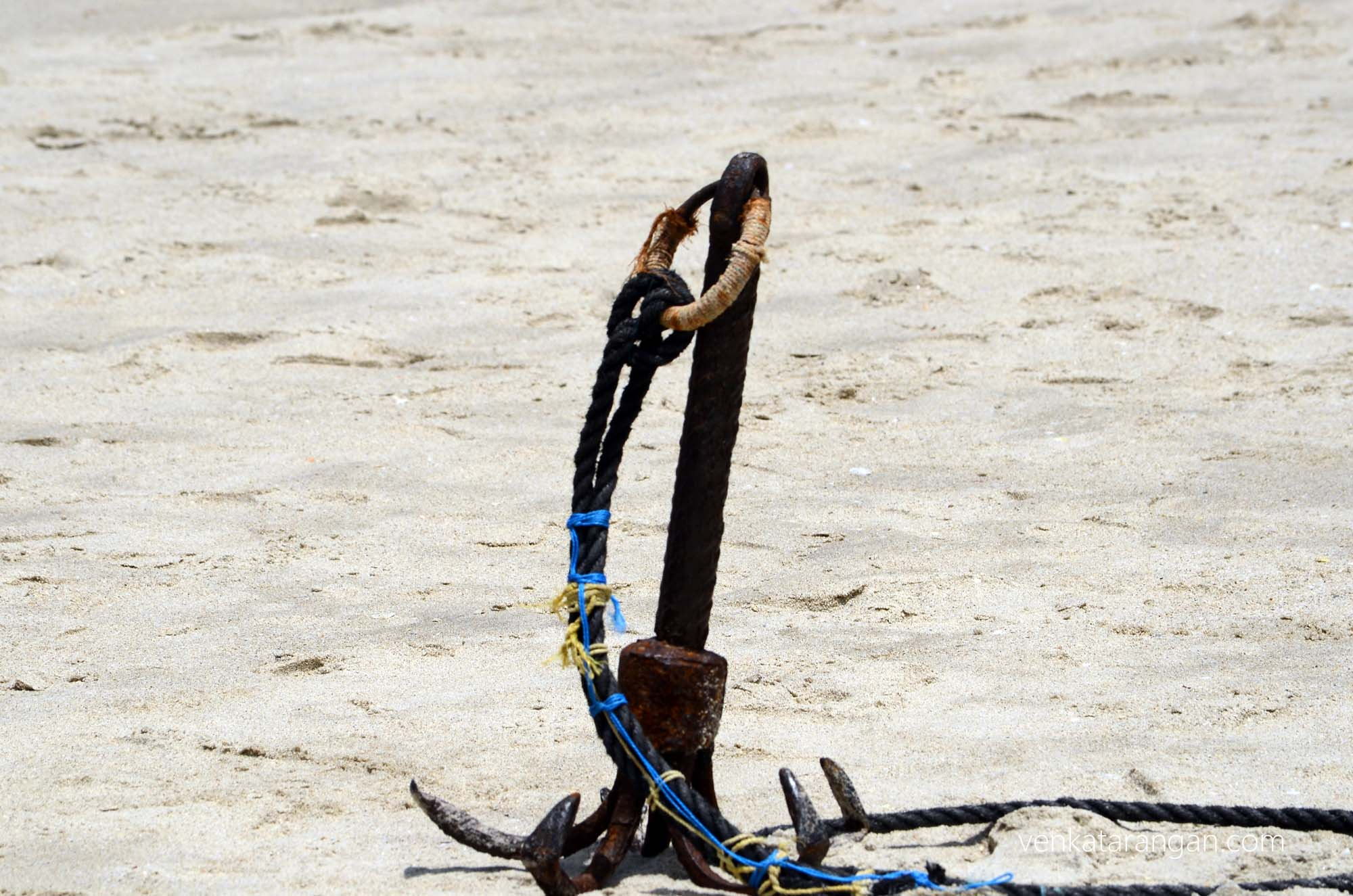 Anchor, rusted?