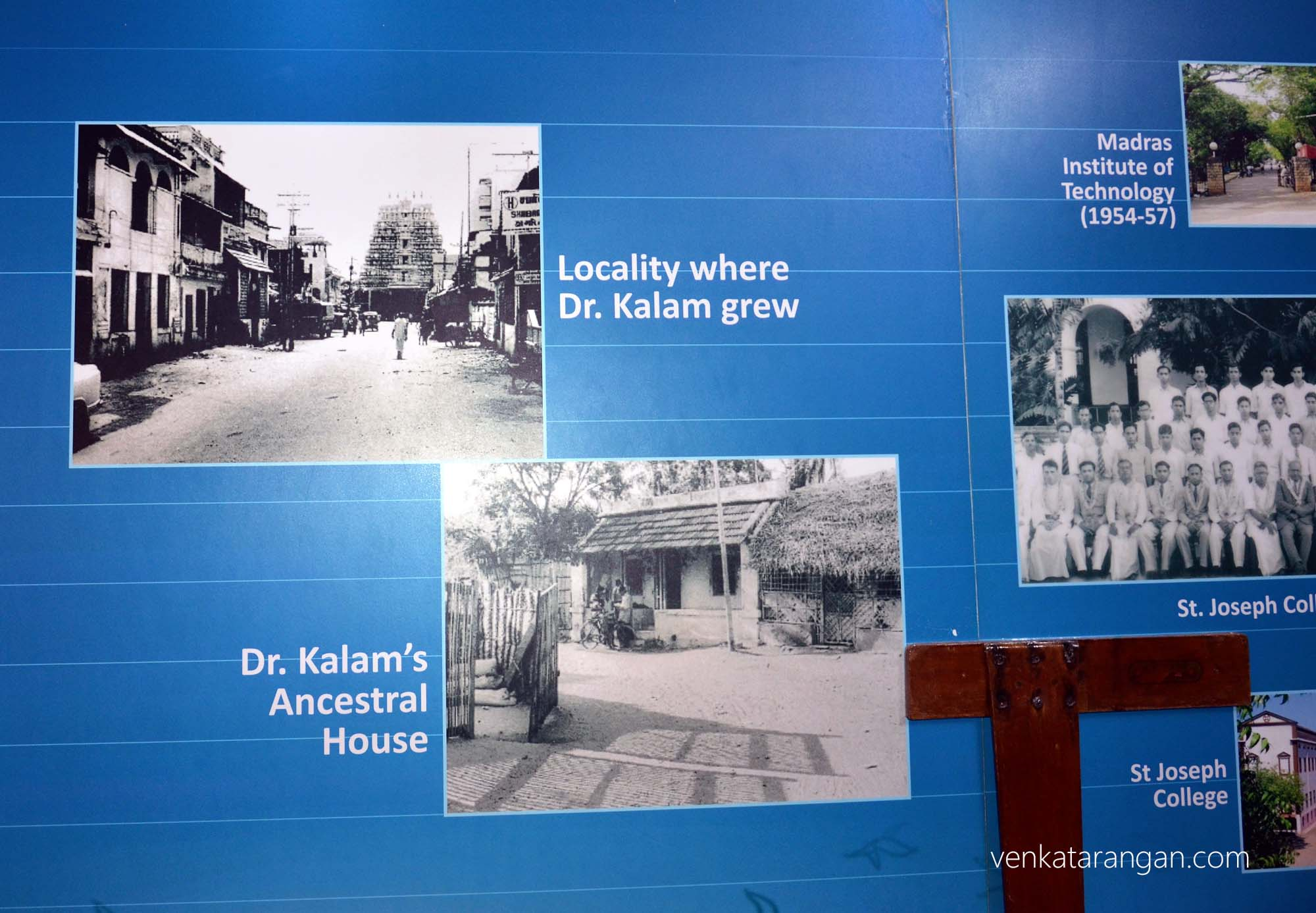 Moments from the growing up years of Dr Kalam