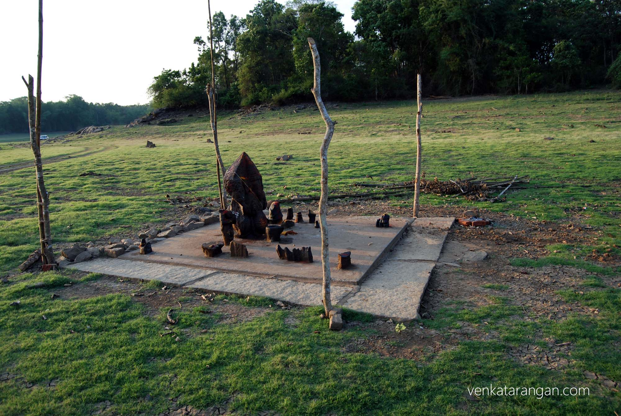 A tribal temple