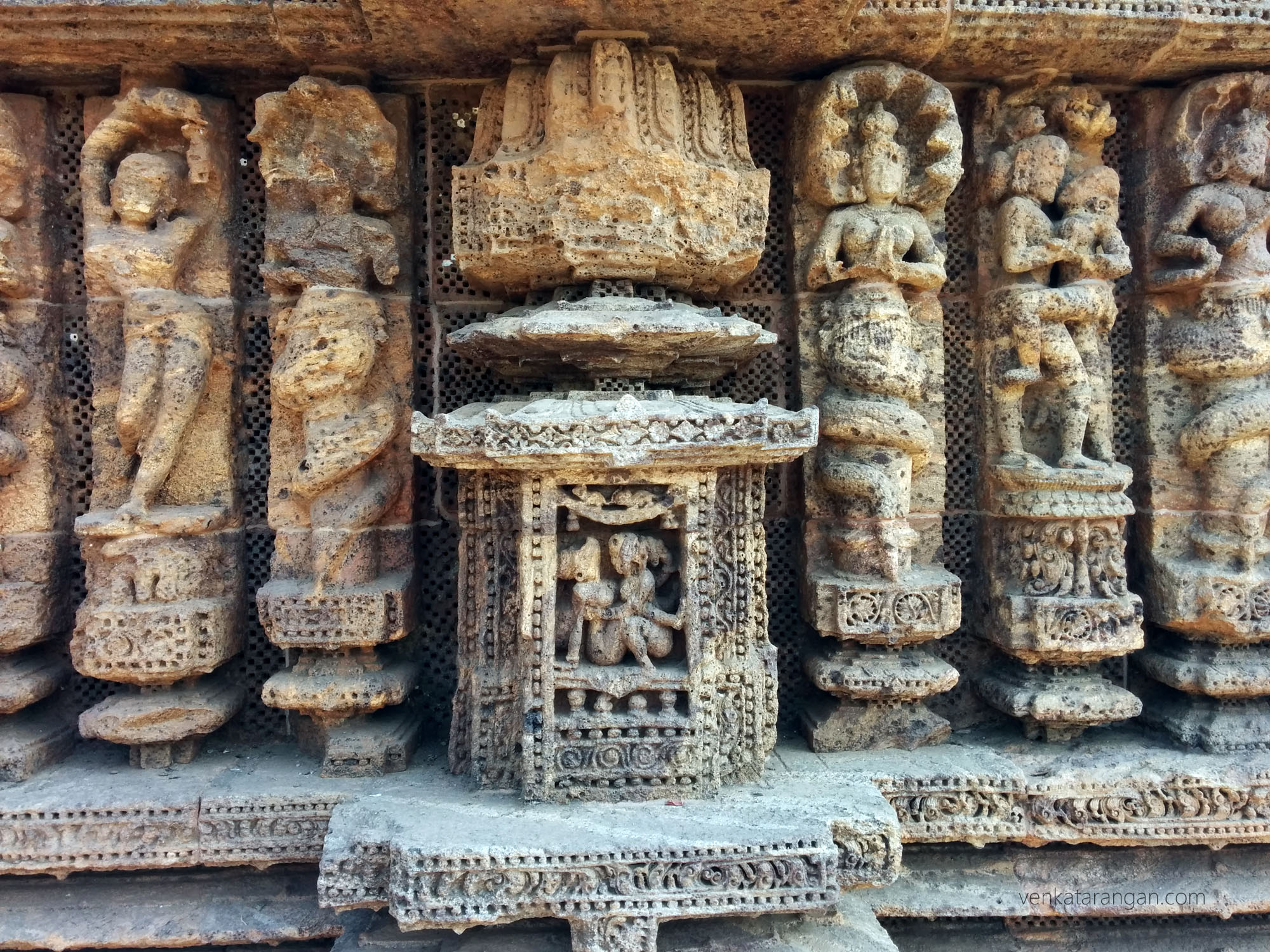 Konark Sun Temple - look at the details of each individual character