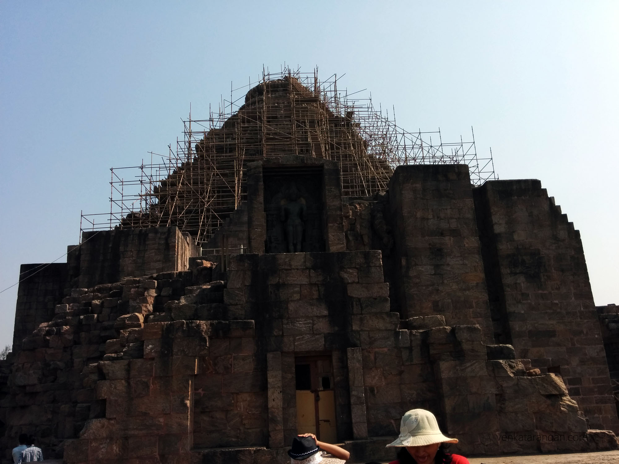 Konark Sun Temple - when we went maintanence was happening