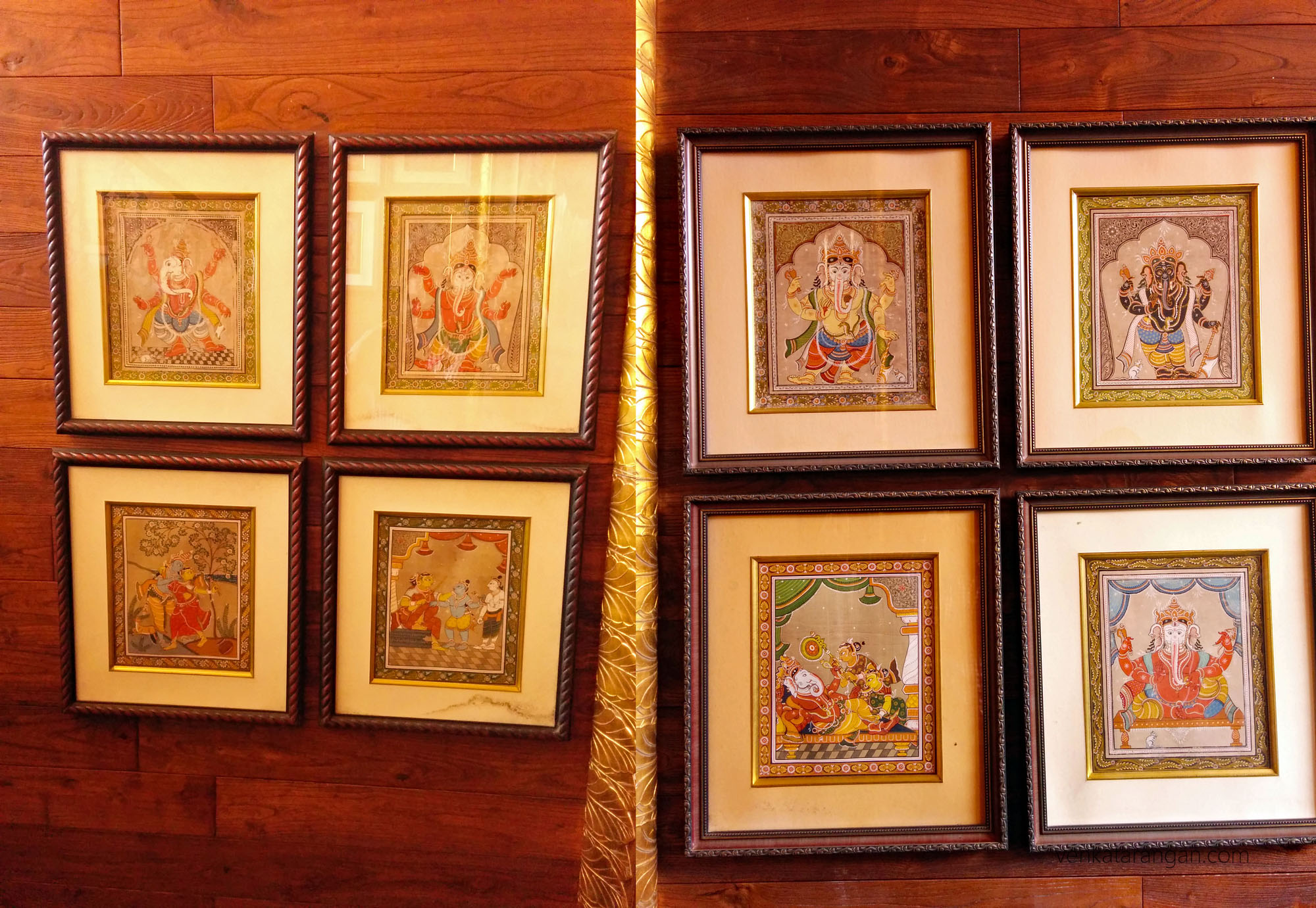 Mayfair Lagoon, Bhubaneswar - All around the property you see lovely paintings