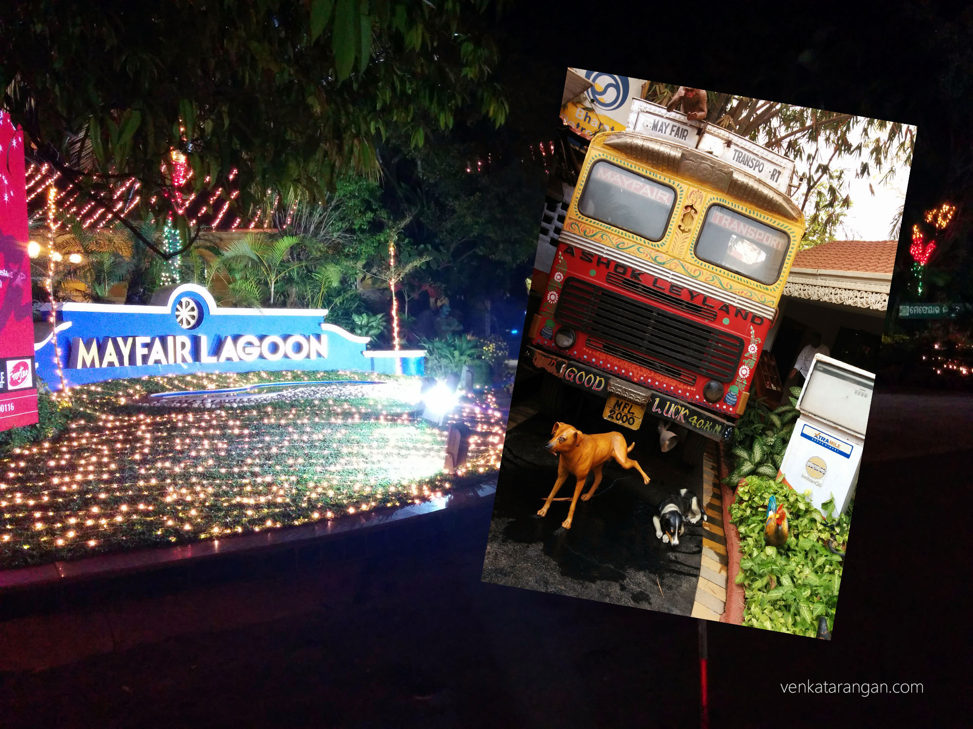 Mayfair Lagoon, Bhubaneswar - (Inside Pic) A replica of a scene where a lorry is filling fuel and a dog relieving itself!