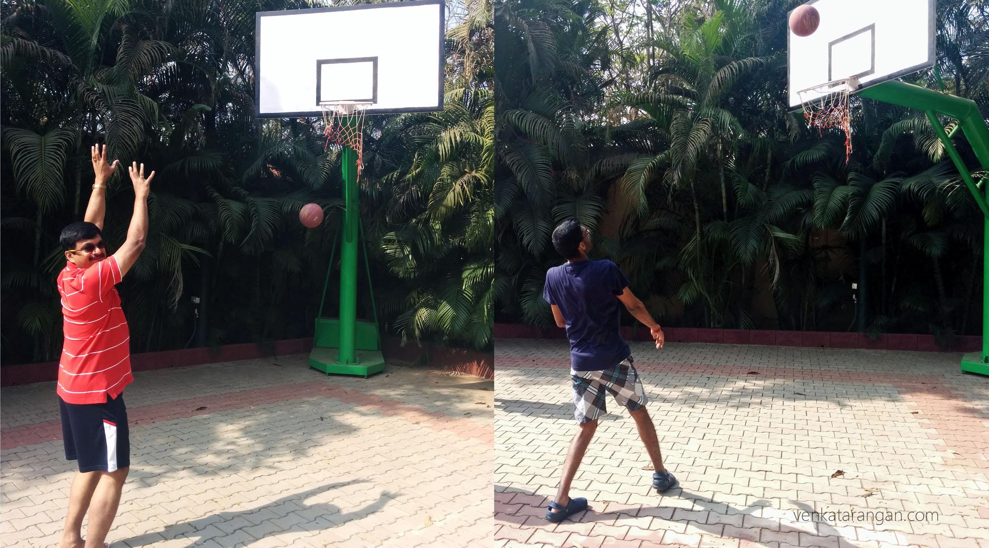 Mayfair Lagoon, Bhubaneswar - Basket ball court