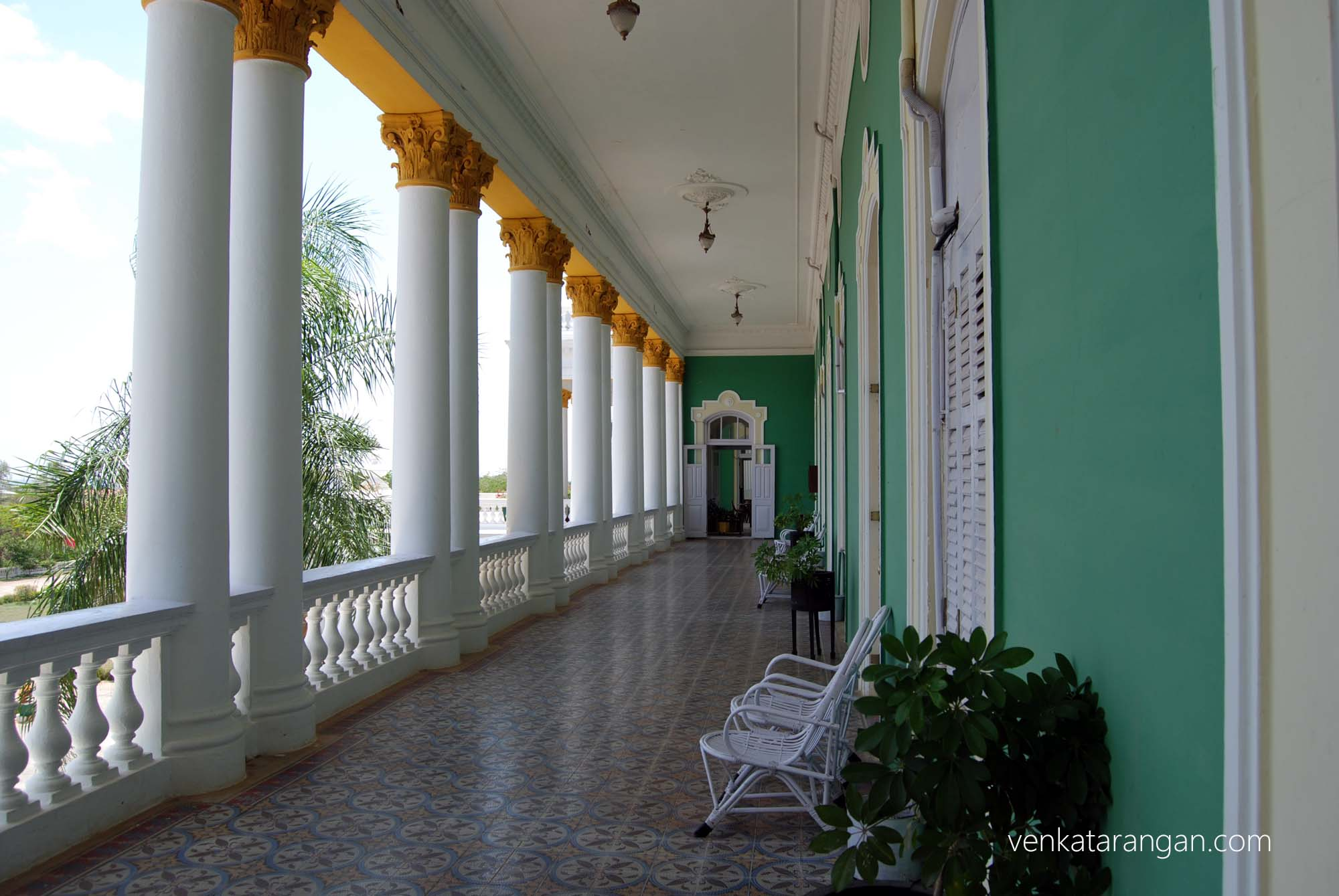 Lalitha Mahal Palace Corridor