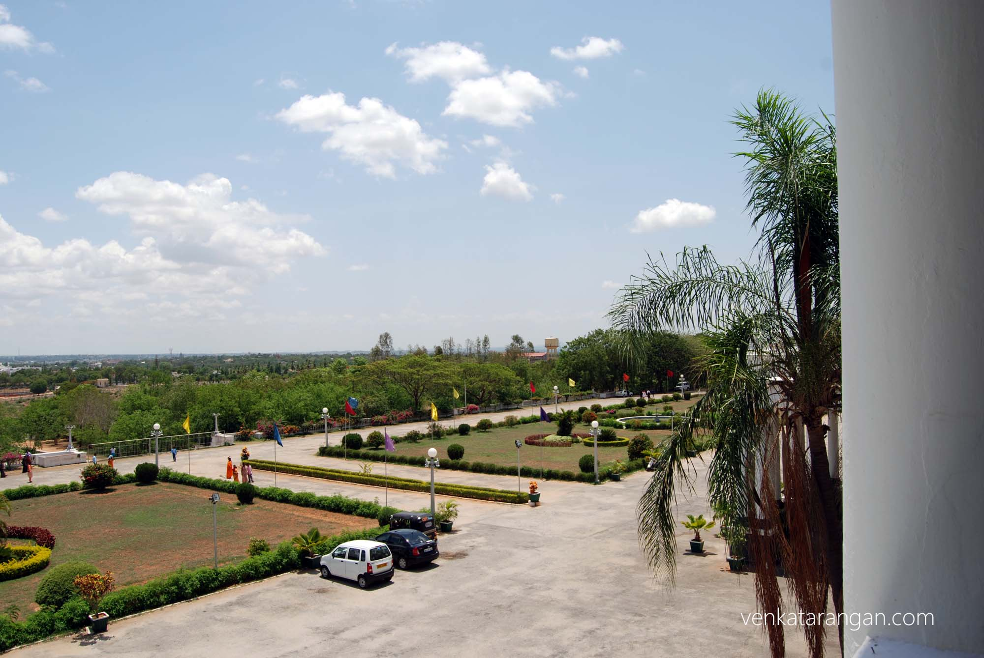 View from Lalitha Mahal Palace