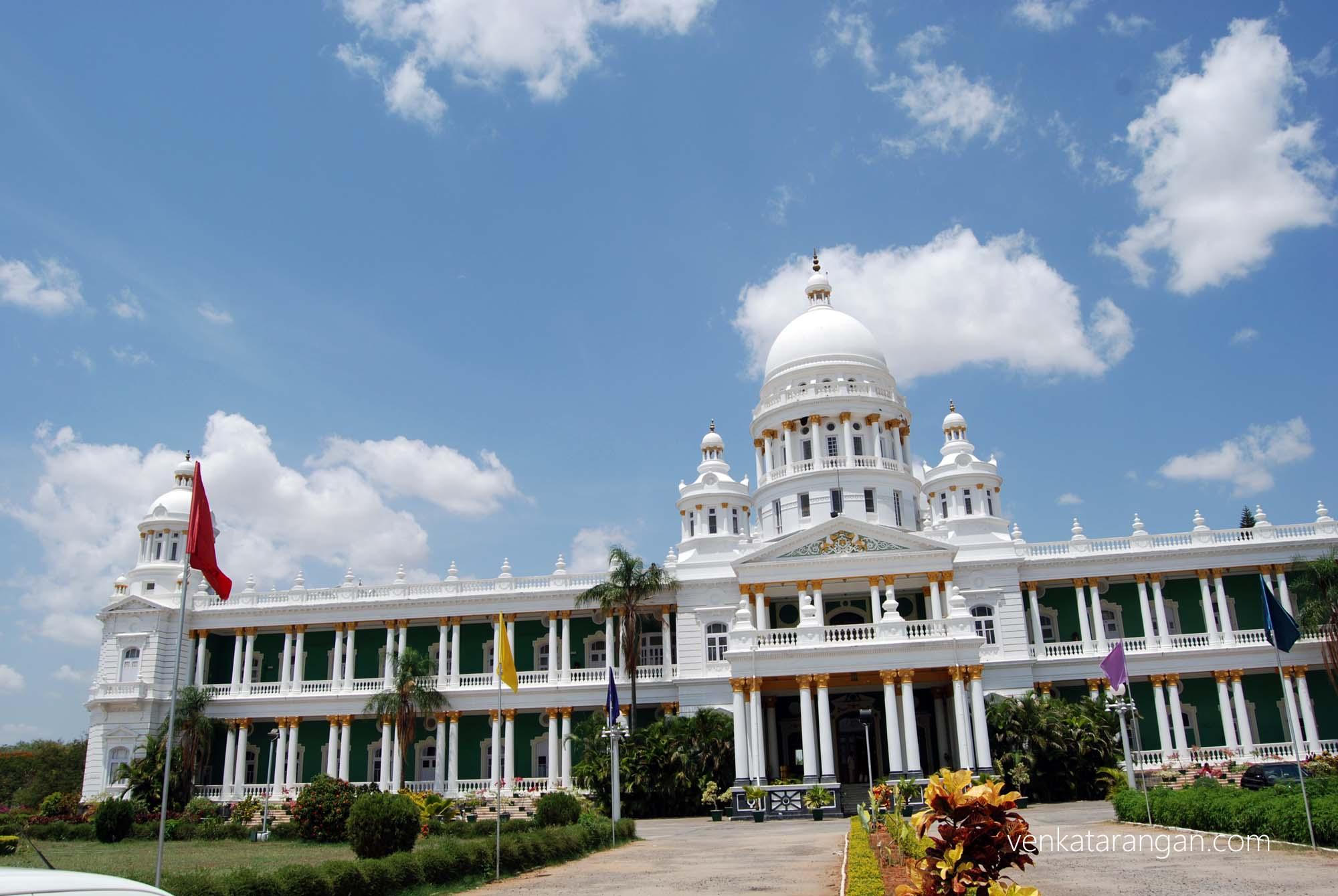 View of Lalitha Mahal Palace