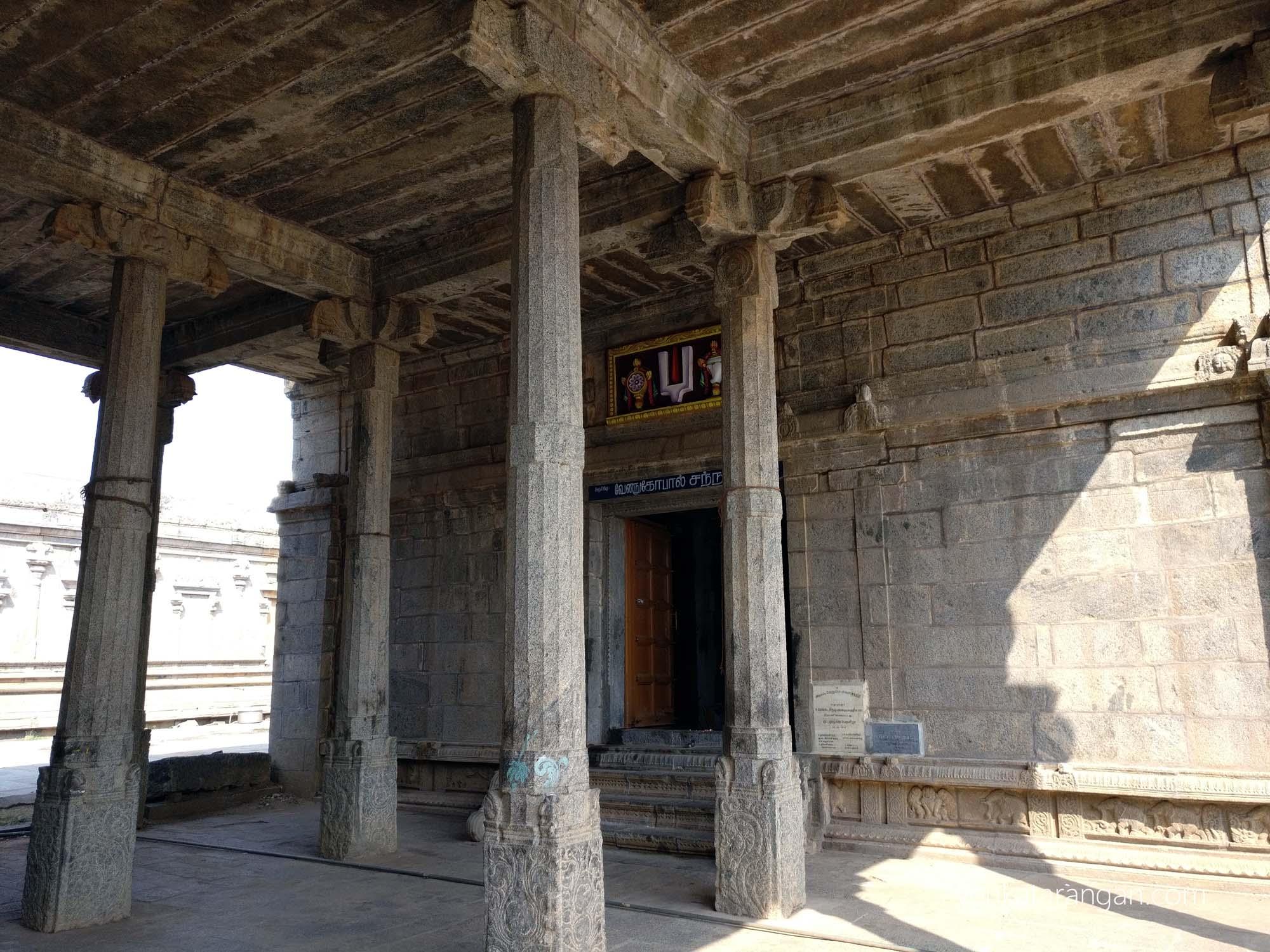 Sri Venugopal Sannidhi, Srimushnam