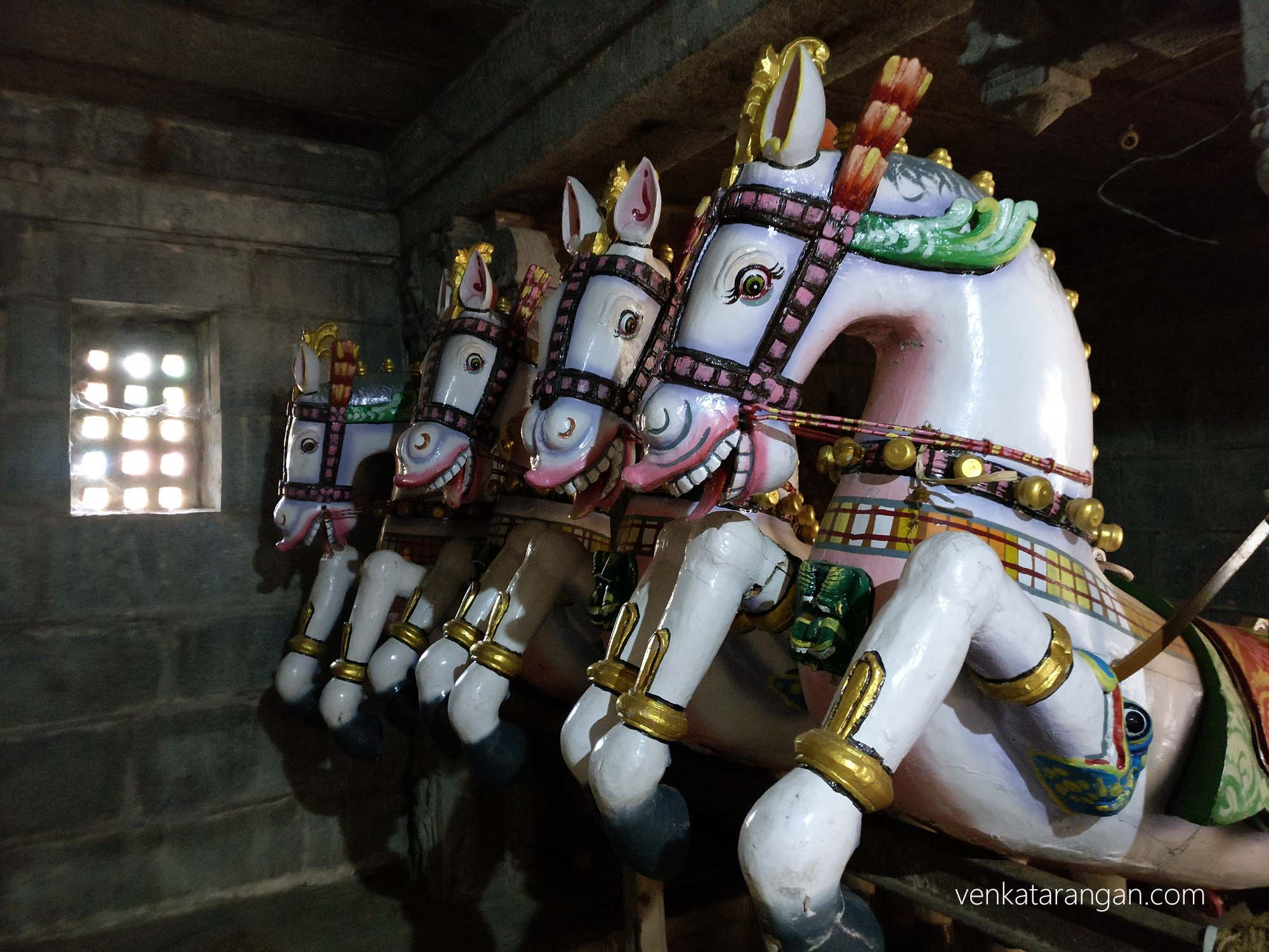 Wooden Horses used during festivals