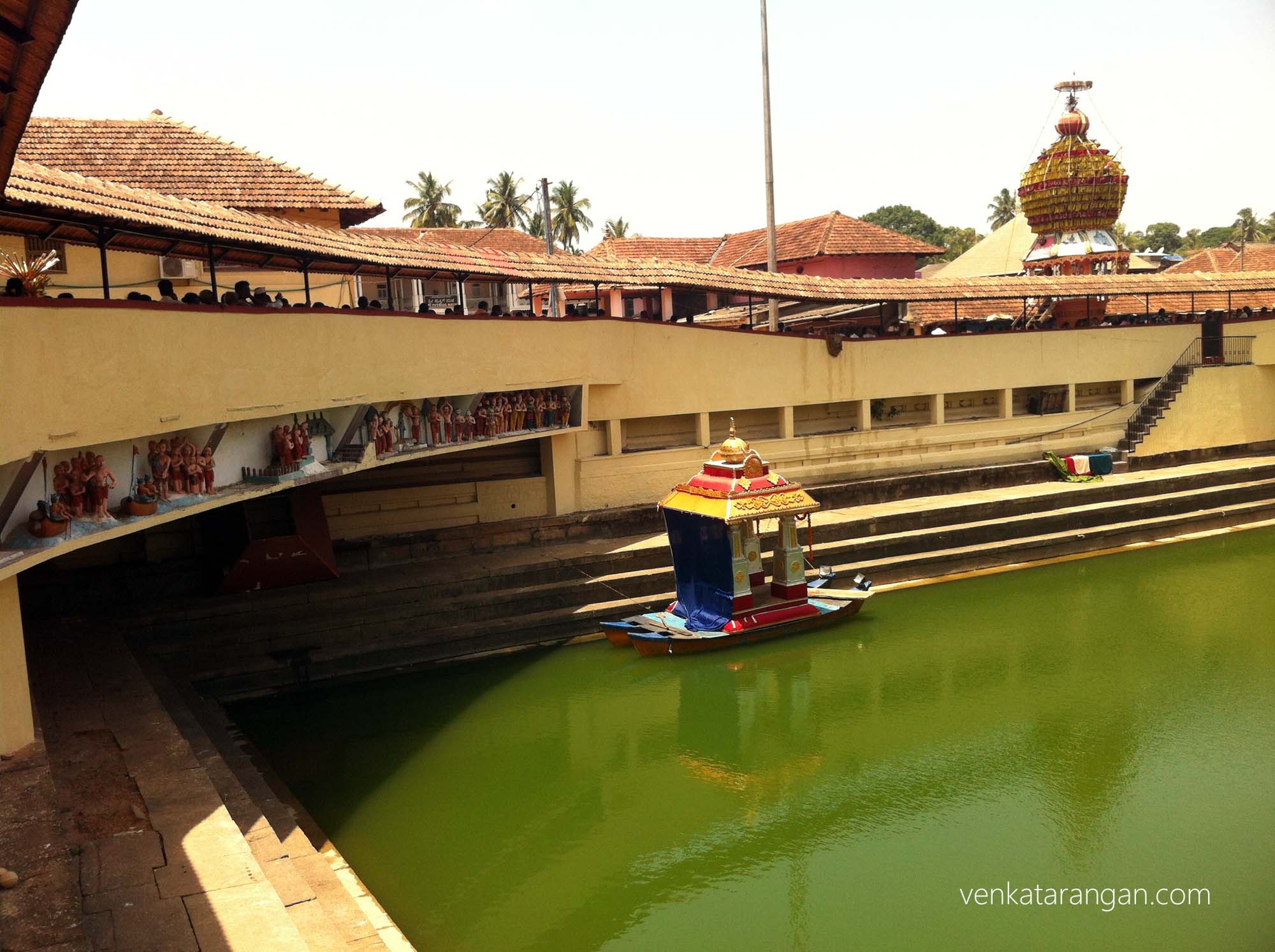 Water chariot in Udupi temple