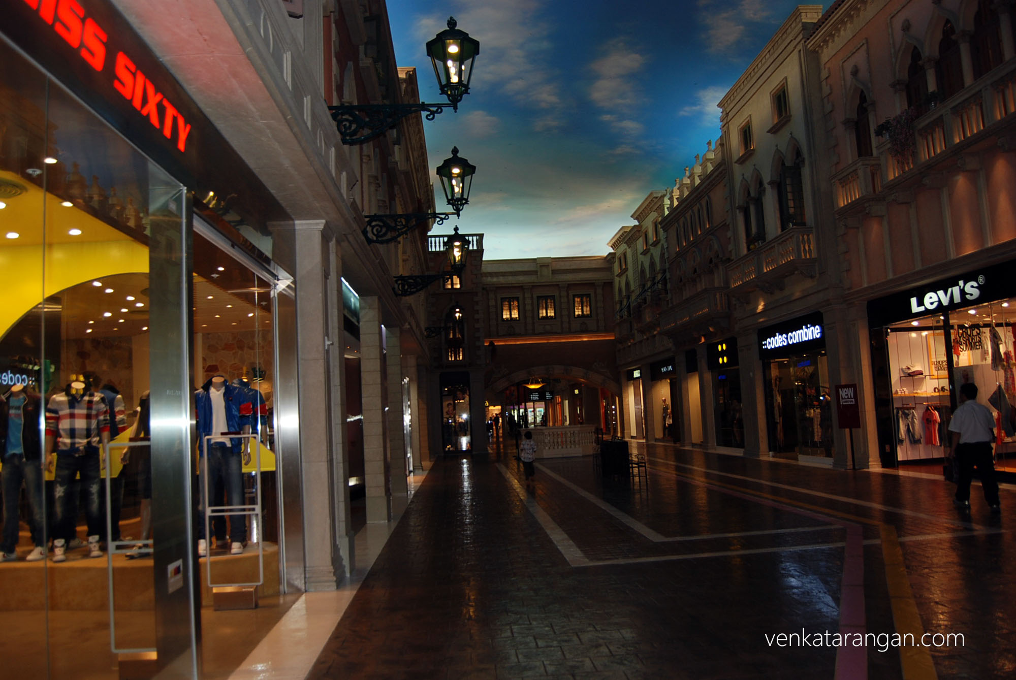 Shops inside The Venetian, Macau