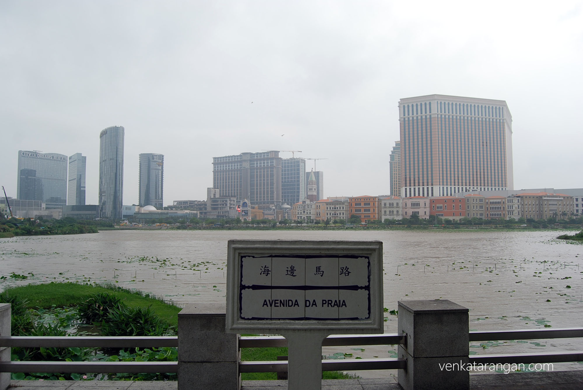 Avenida Da Praia - View from Museum of Macau