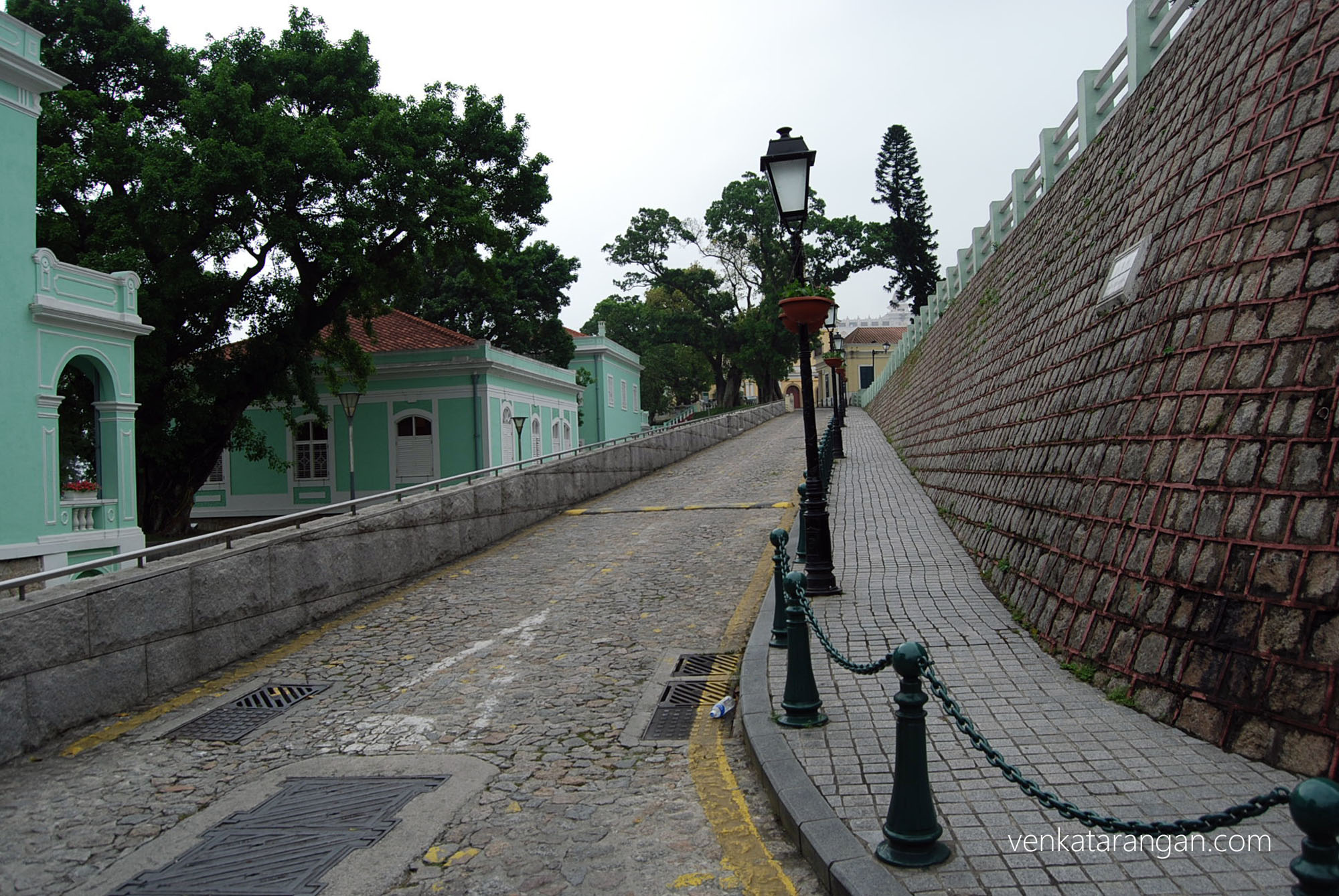 Portuguese colonial buildings
