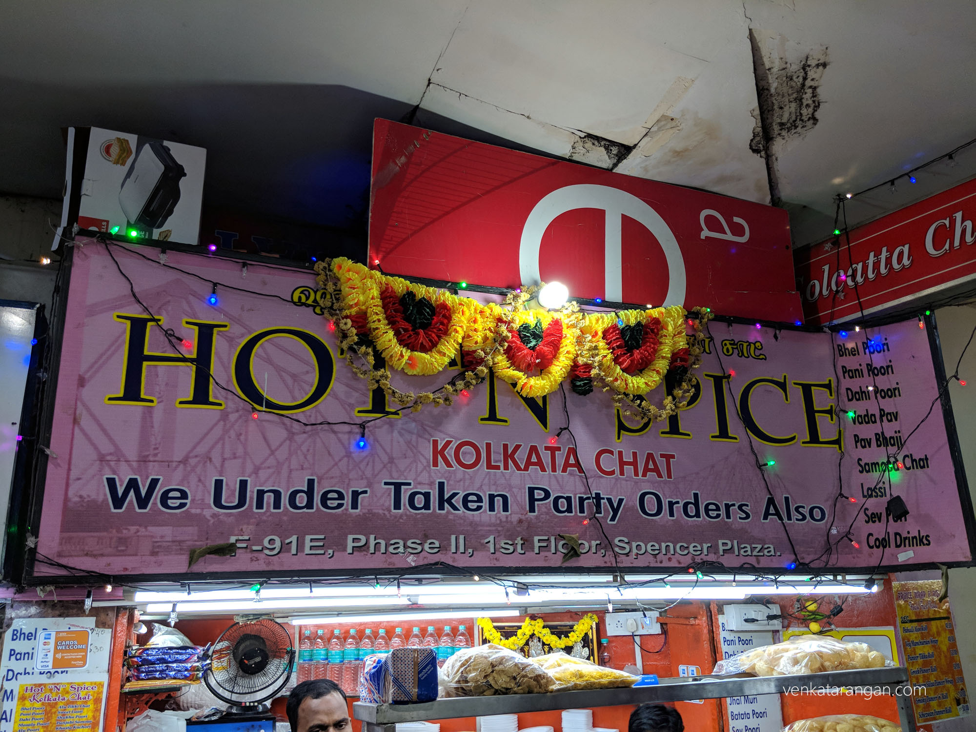 Hot 'n' Spice - Kolkata Chat - Spencer Plaza